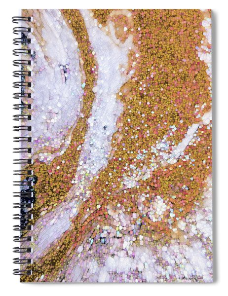 John 12 32. If I Be Lifted Up Spiral Notebook