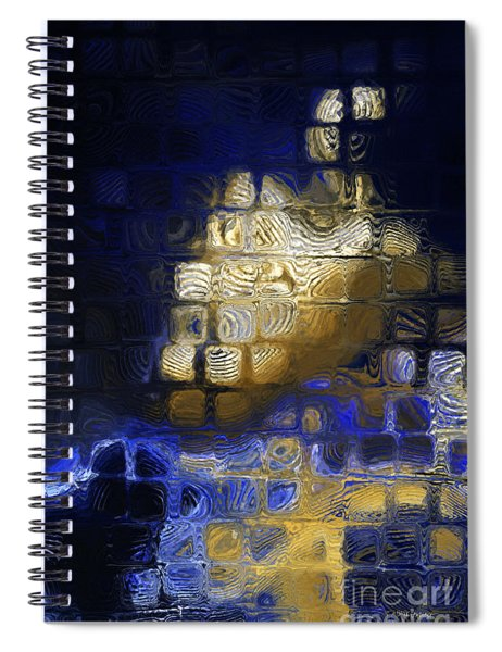 John 16 13. He Will Guide You Spiral Notebook