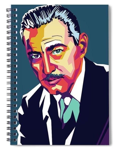 John Barrymore Spiral Notebook