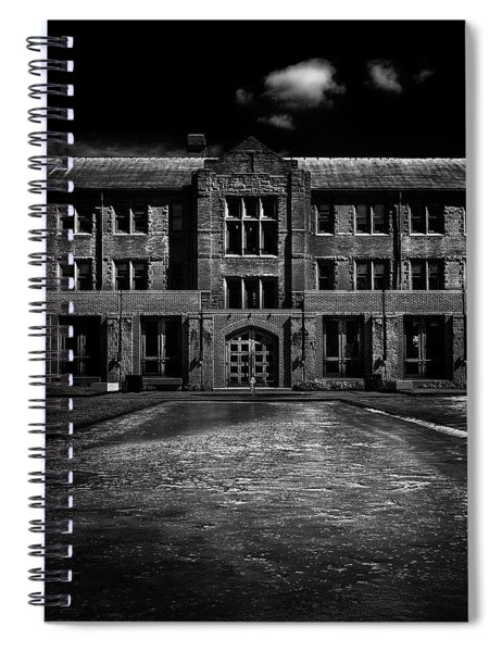 John W Graham Library Spiral Notebook