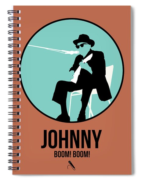 Johnny Lee Hooker  Spiral Notebook