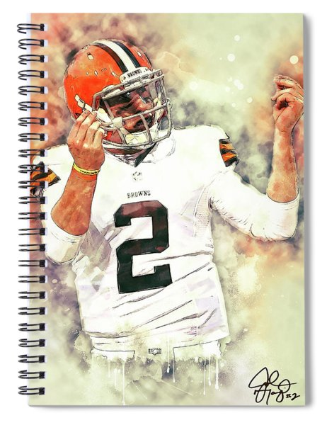 Johnny Manziel Spiral Notebook