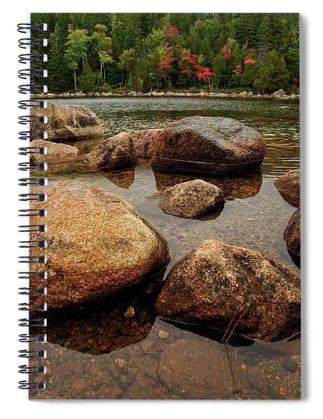 Jordon Pond Boulders Spiral Notebook