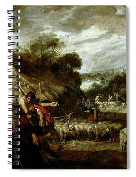'jose Y Sus Hermanos', Ca. 1655, Spanish School, Oil On Canvas, ... Spiral Notebook