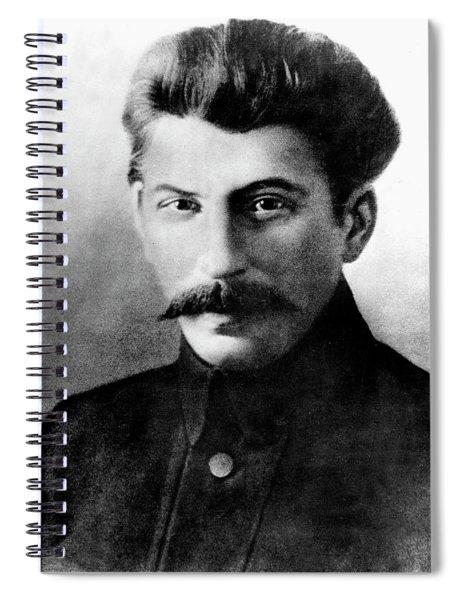 Joseph Stalin In 1917 Spiral Notebook