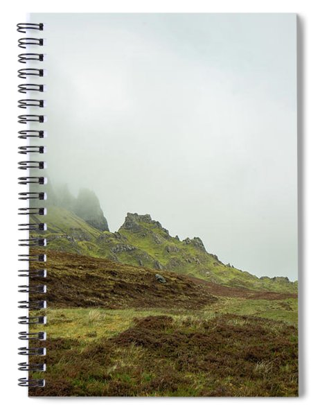 Journey To The Quiraing Spiral Notebook