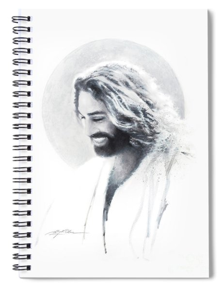 Joy Of The Lord Vignette Spiral Notebook