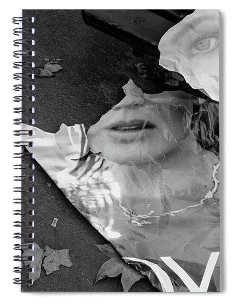 Joy Paris France Spiral Notebook by Caffrey Fielding