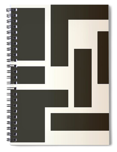 Julije Knifer Tribute Spiral Notebook