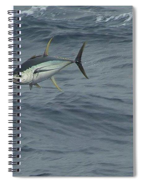 Jumping Yellowfin Tuna Spiral Notebook