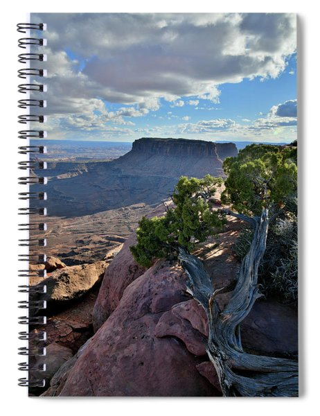 Junction Butte And Grand View Point Spiral Notebook