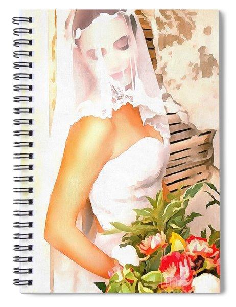 June Bride Spiral Notebook