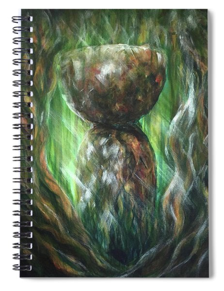 Jungle Latte Stone Spiral Notebook