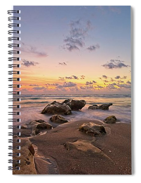 Jupiter Beach 2 Spiral Notebook