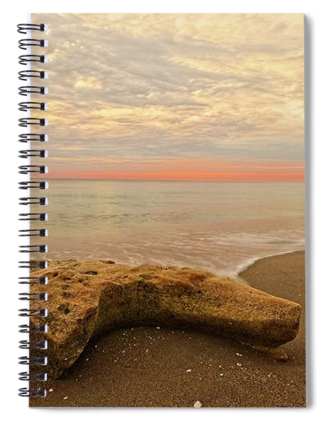 Jupiter Beach Spiral Notebook