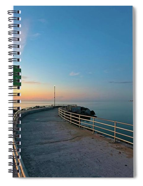 Jupiter Inlet Jetty Looking South Spiral Notebook