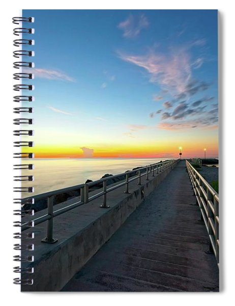 Jupiter Inlet Morning Sky Spiral Notebook
