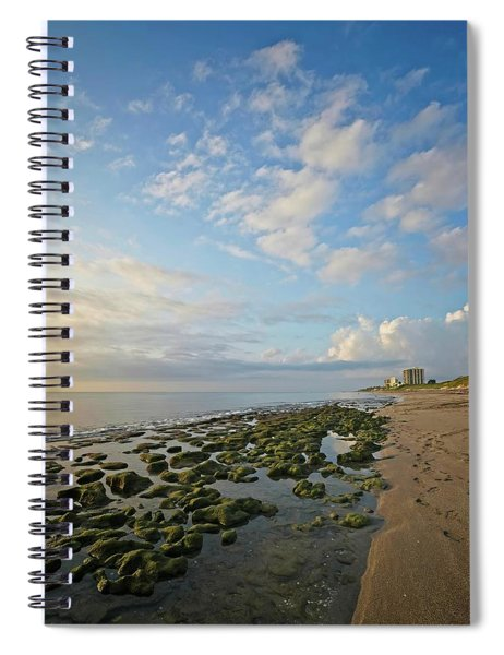 Jupiter Island Shoreline Spiral Notebook