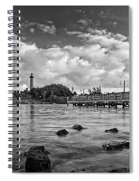 Jupiter Lighthouse 2 Spiral Notebook