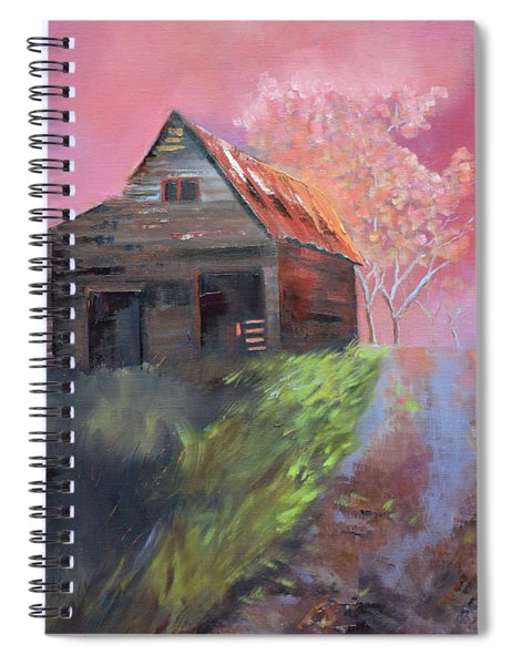 Just A Memory If You Will Spiral Notebook by Jan Dappen