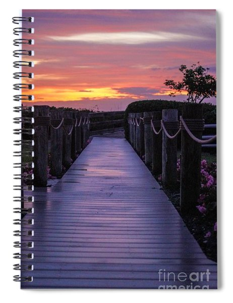 Just Another Day In Paradise Spiral Notebook