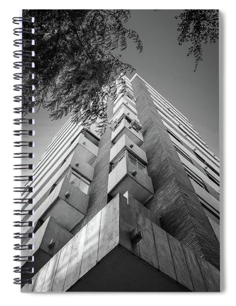 Just Another Skyscraper Spiral Notebook