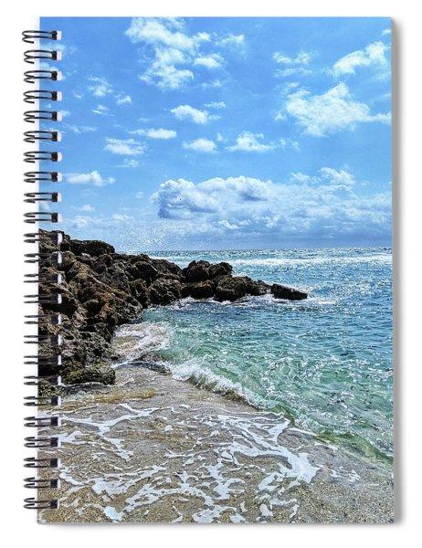 Just Beachy Spiral Notebook