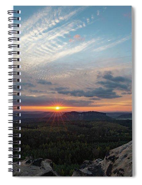 Just Before Sundown Spiral Notebook