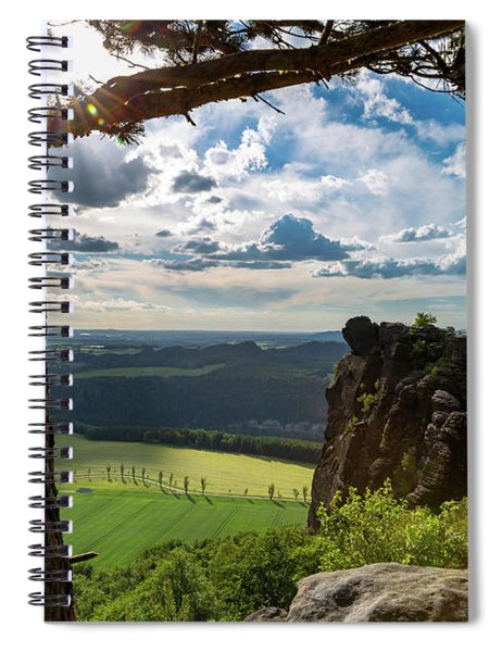 Just Before The Golden Hour Spiral Notebook