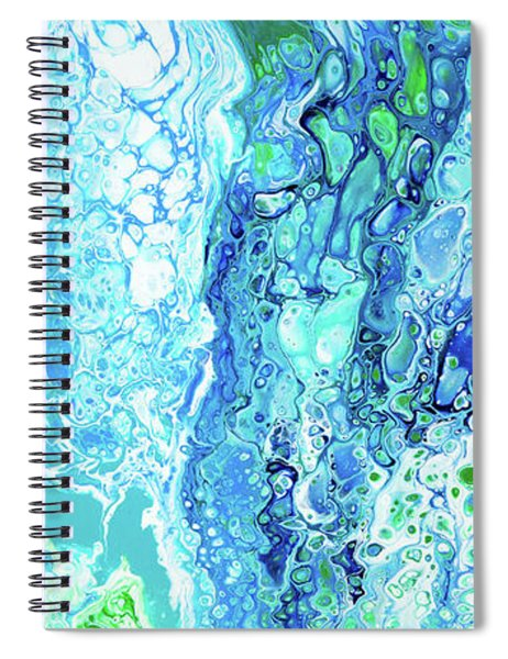 Spiral Notebook featuring the painting Ka'anapali Beach by Lisa Smith