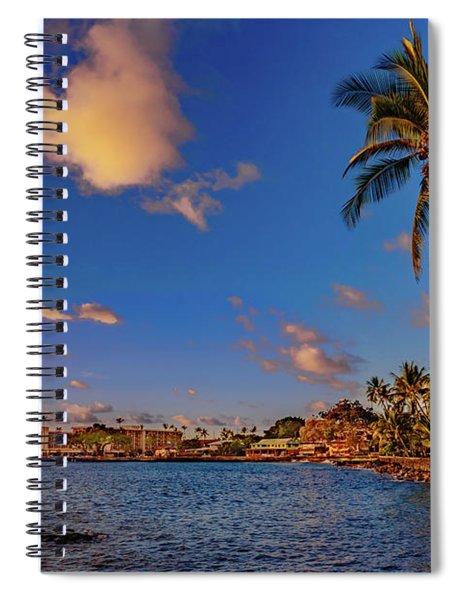 Kailua Bay Spiral Notebook