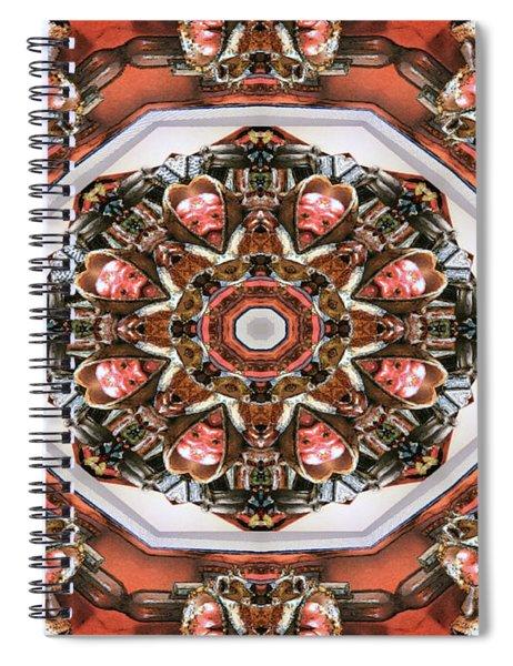 Kaleidoscope Of Apple Still Life Spiral Notebook