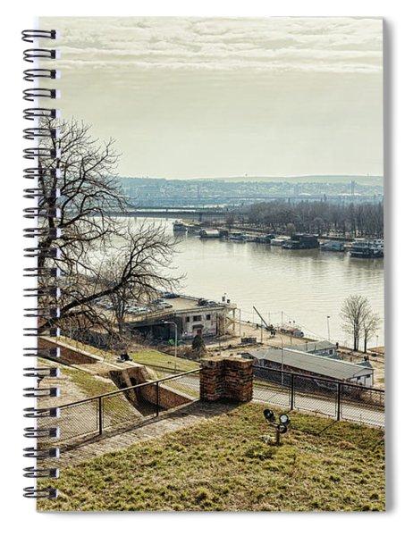 Kalemegdan Park Fortress In Belgrade Spiral Notebook