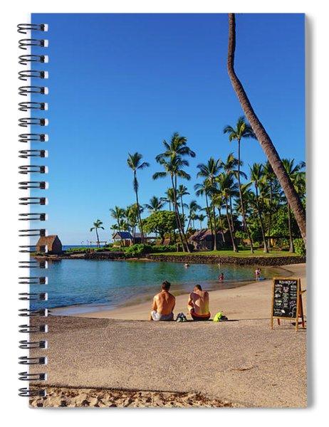 Kamakahonu Beach Spiral Notebook