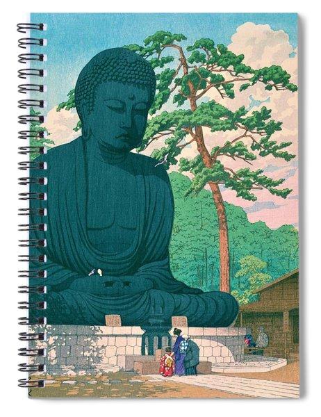 Kamakura Daibutsu - Top Quality Image Edition Spiral Notebook