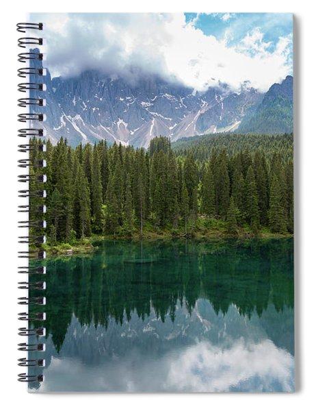 Karersee And Latemar Spiral Notebook