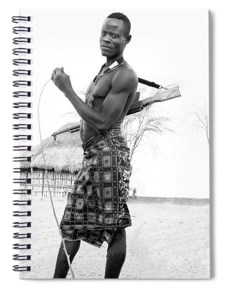 Karo Man  Spiral Notebook