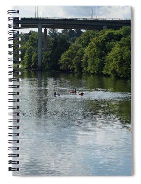 Kayaking On The James River Spiral Notebook