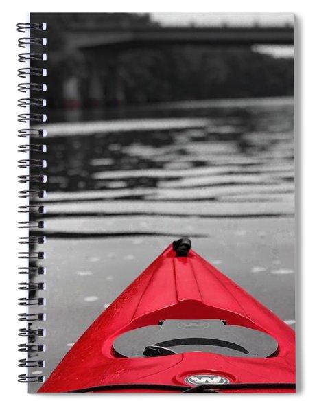Kayaking The Occoquan Spiral Notebook