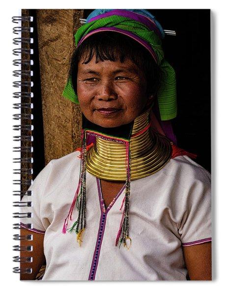 Kayan Woman Spiral Notebook