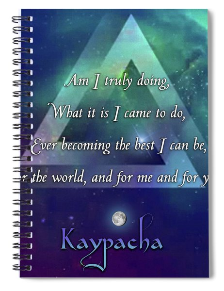 Kaypacha - December 19, 2018 Spiral Notebook