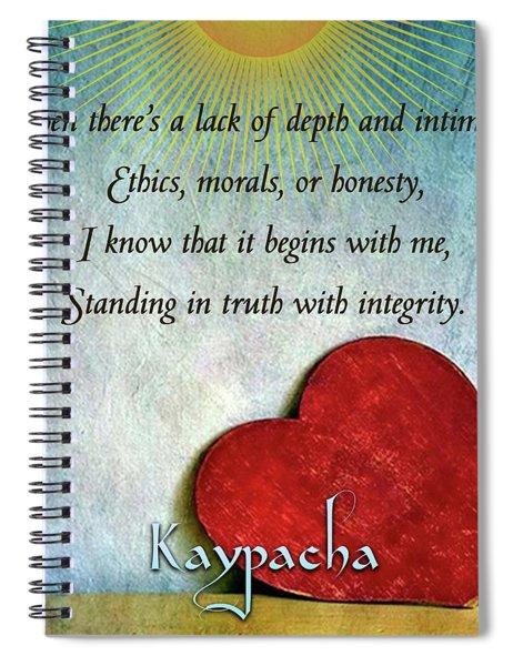 Kaypacha -february 13,2019 Spiral Notebook