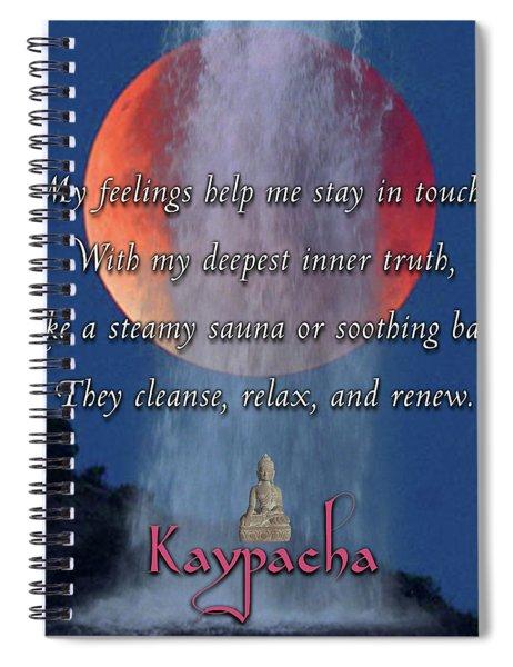 Kaypacha - January 16, 2019 Spiral Notebook