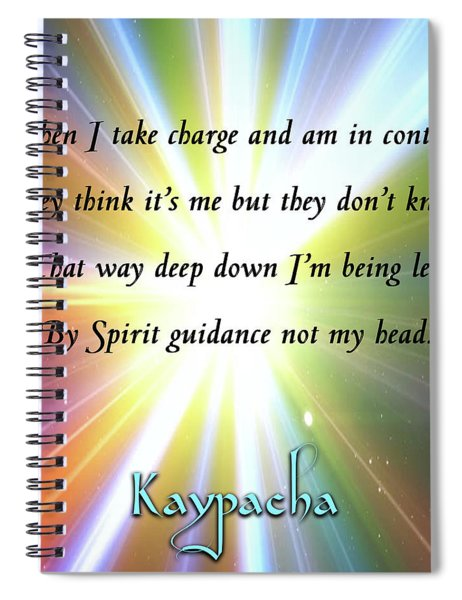 Kaypacha - January 2, 2019 Spiral Notebook