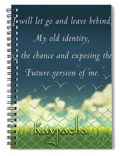 Kaypacha - January 9, 2019 Spiral Notebook