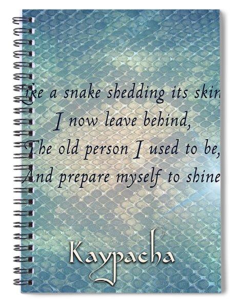 Kaypacha - March 13, 2019 Spiral Notebook