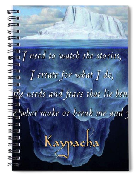Kaypacha - May 22, 2019 Spiral Notebook