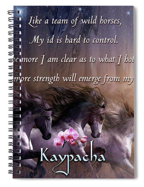 Kaypacha - November 14, 2018 Spiral Notebook