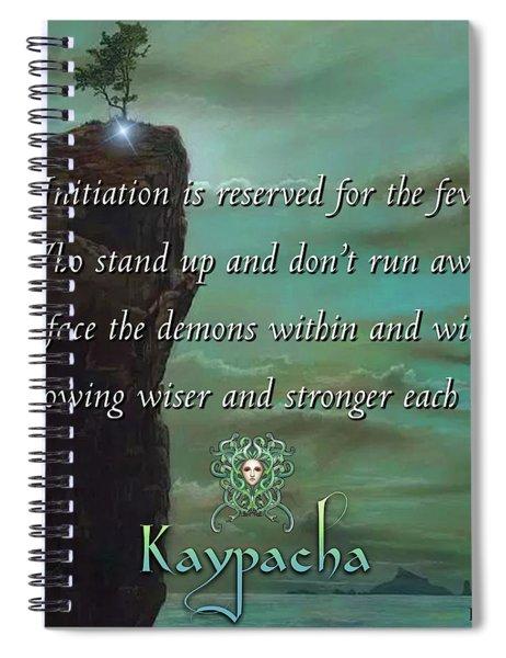 Kaypacha - November 7, 2018 Spiral Notebook