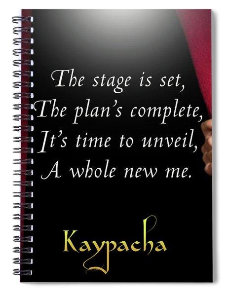 Kaypacha - September 12, 2018 Spiral Notebook